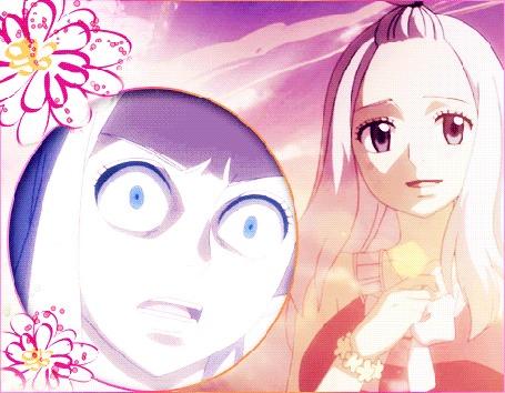 Анимация Мираджейн Штраус / Mirajane Strauss из аниме Хвост феи / Fairy Tail