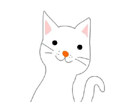 Анимация Белый кот прикрывает глаза и дергает хвостом (© Solist), добавлено: 25.03.2016 15:18