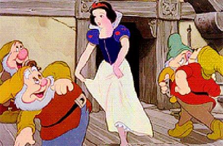 Анимация Белоснежка отплясывает с гномами, мультфильм Белоснежка / Snow White (© Radieschen), добавлено: 01.04.2016 18:14