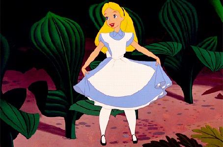анимация алиса в стране чудес