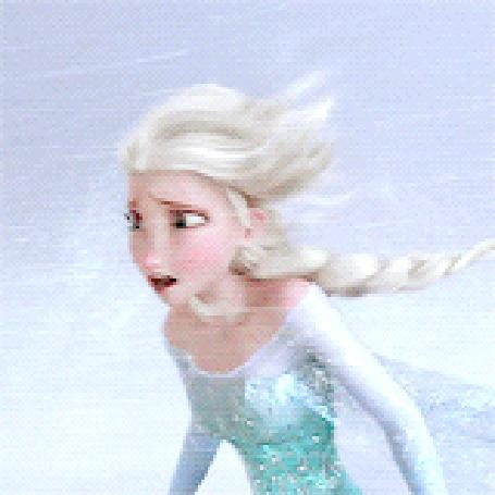 Анимация Эльза / Elsa потерялась во вьюге, Мультфильм Холодное сердце / Frozen (© Radieschen), добавлено: 04.04.2016 12:08