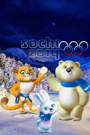 Анимация Олимпийские игры в Сочи / Sochi талисманы 2014