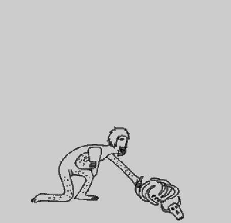 Анимация Эволюция человека от первобытного человека до совренности