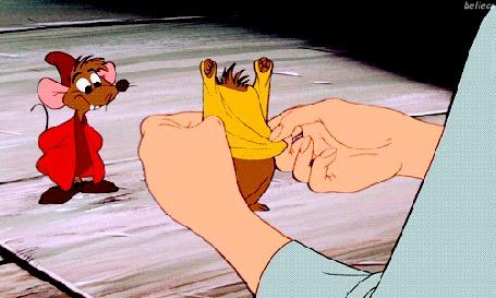 Мышки из золушки гиф
