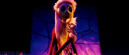 Анимация Джек Скеллингтон поздравляет с Рождеством (Merry Christmas), кукольный мультфильм «Кошмар перед Рождеством»