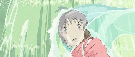 Анимация Ogino Chihiro / Тихиро Огино - главная героиня аниме Унесенные призраками / Spirited Away