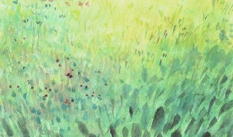Анимация Лисица ныряет в траву, by Slanted Studios