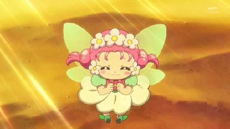 Анимация Ха-чан / Ha-chan из аниме Хорошенькое лекарство: Девочки-волшебницы / Mahoutsukai Precure!