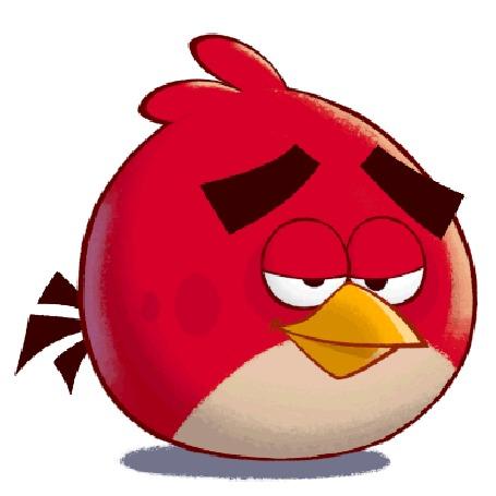 Анимация Персонаж мультфильма Angry Birds Toons / Злые птички