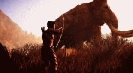 Анимация Игра Far Cry: Primal, охота и выживание в каменном веке