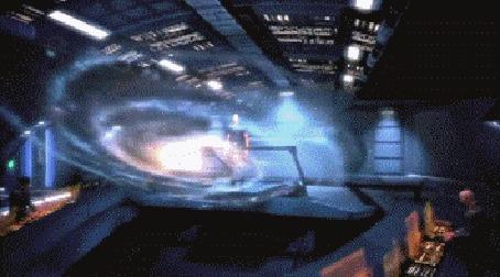 Анимация Космическая тема, из игры Mass Effect