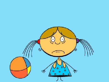Анимация Девочка с мячиком утопает в слезах (© Инга З.), добавлено: 20.07.2016 11:23