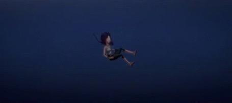 Анимация Океана тонет но магический амулет дает ей способность плавать под водой, мультфильм Волшебная страна чудес