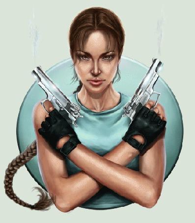 �������� ������� ���� Tomb Raider � ������� ��������� ��������� Lara Croft / ���� ����� � ������� ��������� ��� �������, by Inna-Vjuzhanina