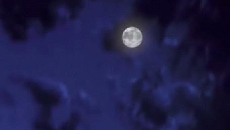 Анимация В лунную ночь корабль плывет по океану, аниме Magic Wonderland / Волшебная страна, 2014