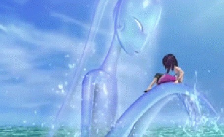 Анимация Морская фея поднимает Океану над водой, аниме Magic Wonderland / Волшебная страна, 2014