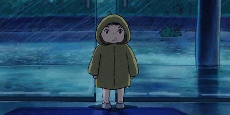 Анимация Соскэ / Sousuke из аниме Рыбка Поньо на утесе / Gake no Ue no Ponyo