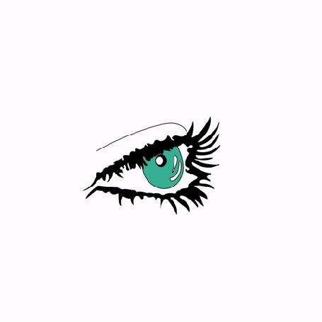 Анимация Слеза капает из глаза и превращается в осьминога (© zmeiy), добавлено: 10.09.2016 09:07