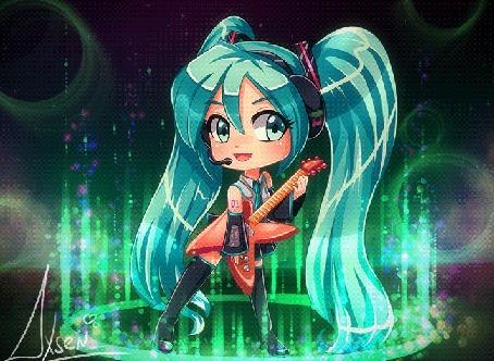 Анимация Вокалоид Хацунэ Мику / Vocaloid Hatsune Miku