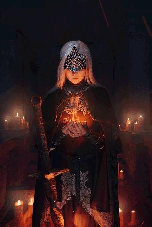 Анимация Косплей хранитель огня, by ver1sa