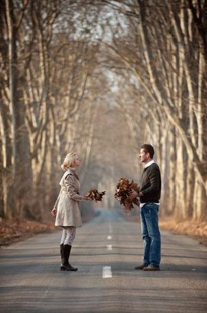 Картинки бесплатно зима мужчина прощается с женщиной