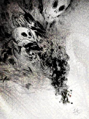Анимация Реинкарнация в оттенках серого (RIP)