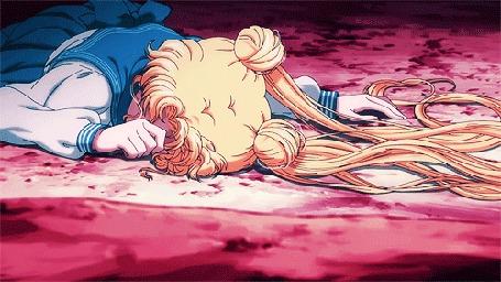 Анимация Усаги Цукино / Usagi Tsukino / Сейлор Мун / Sailor Moon / Принцесса Серенити / Princess Serenity из аниме Прекрасная воительница Сейлор Мун: Кристалл / Sailor Moon Crystal