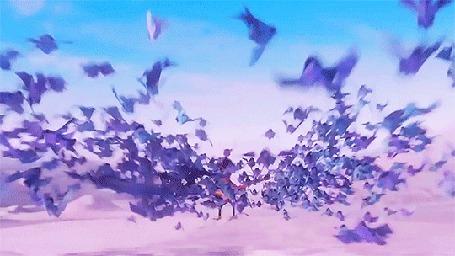 Анимация Кубо / Kubo из мультфильма Кубо. Легенда о самурае / Kubo and the Two Strings