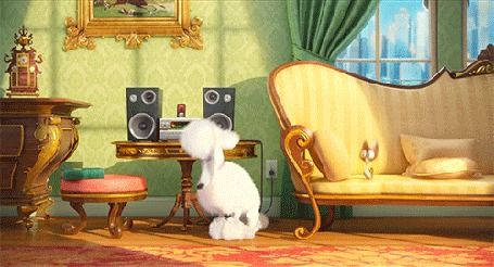 Анимация Кадр из мультфильма Университет монстров / Monsters University, музыкальное исполнение домашних животных