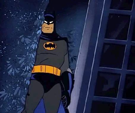 Анимация Batman / Бэтмен показывает класс, мультфильм Batman / Бэтмен