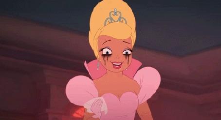 Анимация Плачущая Шарлотта, мультфильм Принцесса и лягушка