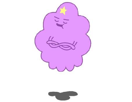 Анимация Lumpy Space Princess / Принцесса Пупырка из мультсериала Время Приключений / Adventure Time