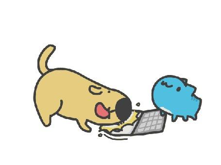 Анимация Capoo / Капу и его друг пес из манги Бракованный котик / BugCat-Capoo / Mao Mao Chong Kabo