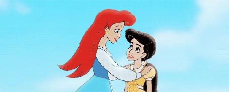 Анимация Ariel / Ариель и Melody / Мелоди из мультфильма The Little Mermaid 2 / Русалочка 2