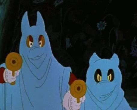 Анимация Разбойники пугают Буратино, мультик Приключения Буратино