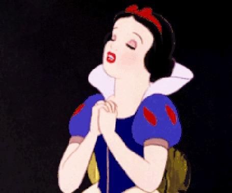Анимация Белоснежка из одноименного мультфильма Белоснежка и Семь Гномов, мультфильм студии Disney / Дисней