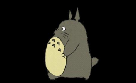 Анимация Шагающий Totoro / Тоторо из аниме Tonari no Totoro / Мой сосед Тоторо