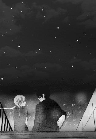 Анимация Сюжет из сериала манга Tonari no Kaibutsu-kun / Монстр, сидящий рядом со мной