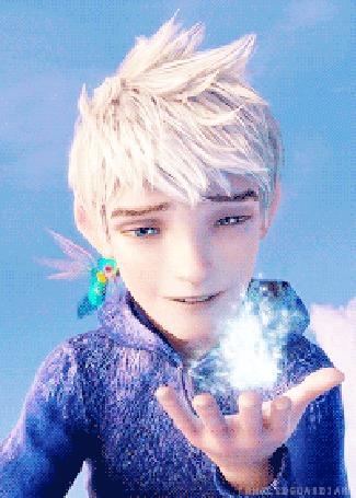 Анимация Jack Frost / Ледяной Джек и Зубная фея из мультфильма Rise Of The Guardians / Хранители снов