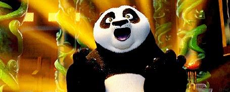 Анимация Панда громко поет, мультфильм Kung-Fu Panda / Кунг - фу панда)