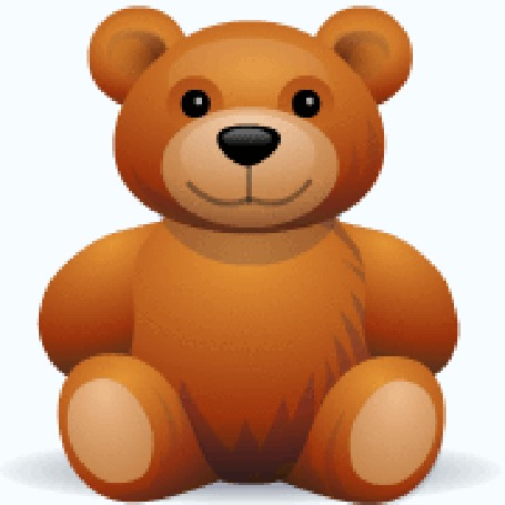 Teddy bear hug gif