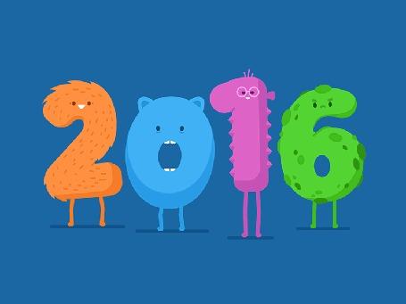 Анимация К цифре 6 подходит цифра 7 и убирает ее, получается 2017 год