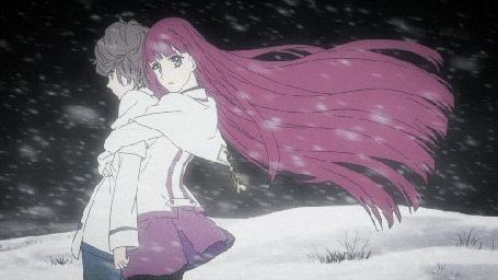 Анимация Мамору Ито / Mamoru Itou и Мария Акидзуки / Maria Akizuki из аниме Из нового света / Shinsekai yori