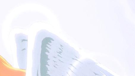 Анимация Габриэль Уайт Тэнма / Gabriel White Tenma из аниме Габриэль бросает школу / Gabriel DropOut