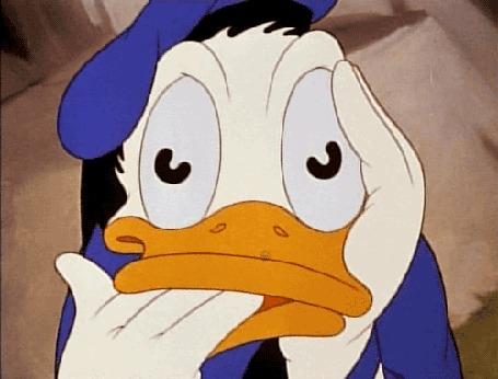 Анимация Donald Duck / Дональд Дак - герой мультфильмов студии Walt Disney