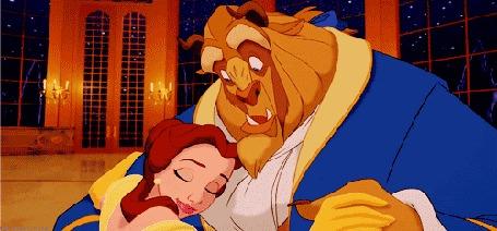 Анимация Красавица танцует с чудовищем, кадр из мультфильма The beauty and the Beast / Красавица и чудовище