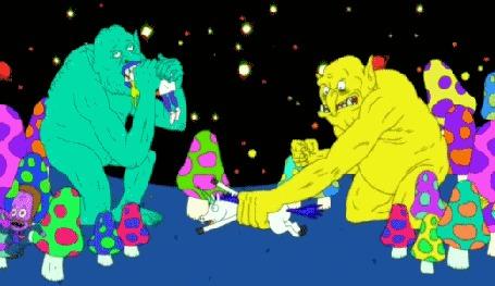Анимация Фантазии на тему мультсериала Adventure Time / Время Приключений