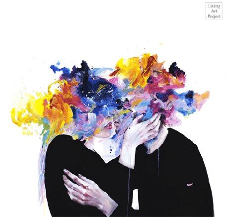 Анимация Рисунок пары, которая целуется