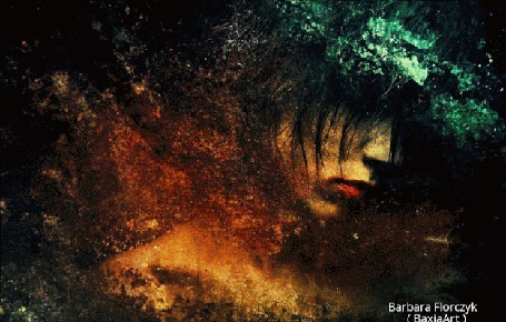 Анимация Фантастический образ девушки, by BaxiaArt - Barbara Florczyk