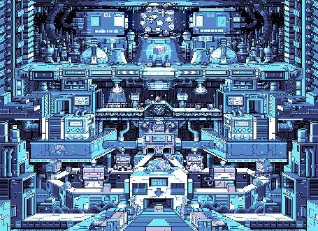 Анимация Завод, где работают роботы, by Paul Robertson